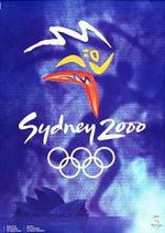 Offisiell plakat fra OL i Sydney i 2000.