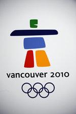Offisiell plakat fra OL i Vancouver 2010.