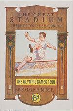 Offisiell plakat fra OL i London i 1908