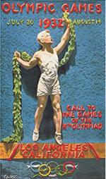 Offisiell plakat fra OL i Los Angeles i 1932